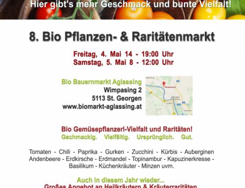 Pflanzenmarkt 4. und 5. Mai 2018
