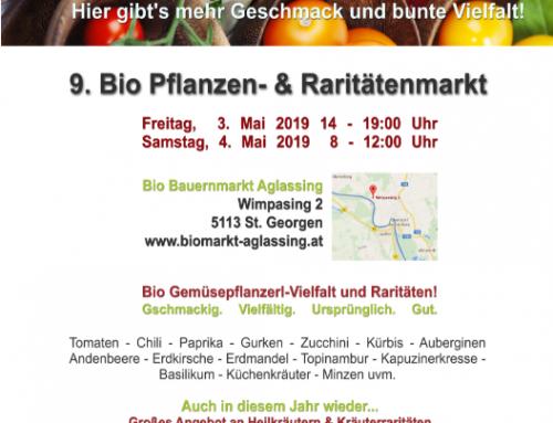 Pflanzenmarkt 3. – 4. Mai 2019